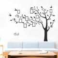Sticker decorativ Copac cu rame foto - stanga, 172 x 219 cm