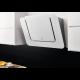 Hota decorativa Electrolux LFV218W, Design inclinat, Putere de absorbtie 647 mc/h, 1 motor, 80 cm, Alb