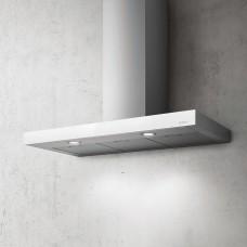 Hota cu montare pe perete ELICA JOY WHIX/A/90, 713 m3/h, 90 cm, Sticla alba/Inox