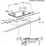 Plita incorporabila Electrolux EGS6436SX, gaz, 4 arzatoare, 60 cm, Aprindere electrica, Inox