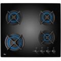 Plita incorporabila Teka HF LUX 60 4G AI AL CI Black