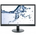 "Monitor LED AOC E2070SWN, 19.5"", Wide, Negru Lucios"
